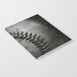 Black and white Baseball Notebook