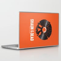 shaun of the dead Laptop & iPad Skins featuring Shaun of the dead by Wharton