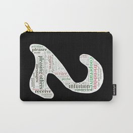 Life Path 2 (black background) Carry-All Pouch