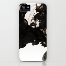 black sea | ink painting iPhone Case