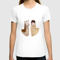 danisnotonfire T-shirts featuring Danisnotonfire Llama by Khrow