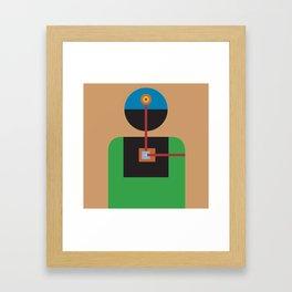 One: Feel Framed Art Print