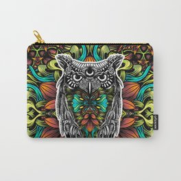 Owl color Carry-All Pouch