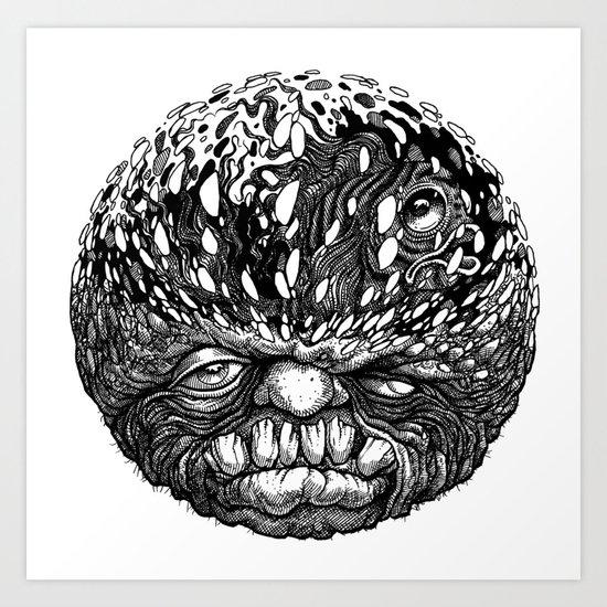 Sumpin Fishy Art Print
