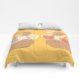 Cool Potatoes Comforters
