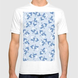 C1.3 snowman pattern T-shirt