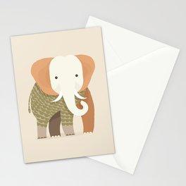 Whimsical Elephant Stationery Cards