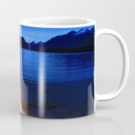 Beach Fire Burning, Kepler Track Coffee Mug