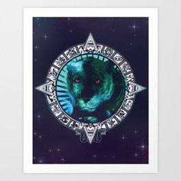 PanteraPlanetario Art Print