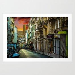 Colors of Paris Art Print