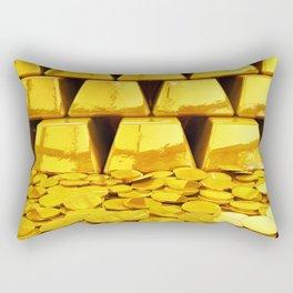 Gold investment Rectangular Pillow