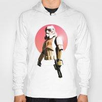 stormtrooper Hoodies featuring Stormtrooper by Luke Fisher
