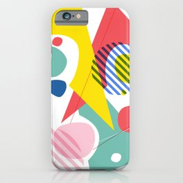 Abstract Pop IV iPhone Case