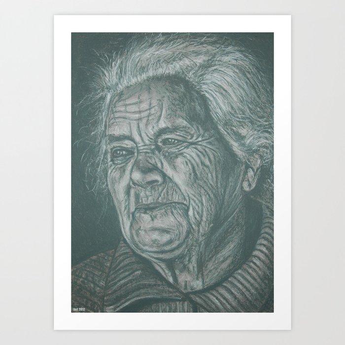 much love grandma! Art Print