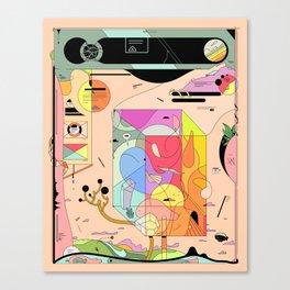 Pfpfpfpf Canvas Print