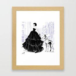Keep it Classy Framed Art Print