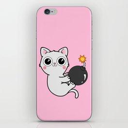 Kitty With a Ball of YaaAAAAA!!! - Explosives Expert Boom Cat iPhone Skin