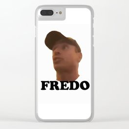 Fredo Cuomo Clear iPhone Case