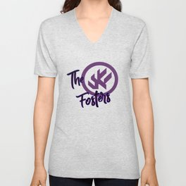 "The Fosters Band Shirt - ""The Ultimate Wingman"" Klance Fic (Color Logo) Unisex V-Neck"