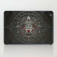 calendars iPad Cases featuring Stone of the Sun I. by Dr. Lukas Brezak
