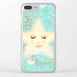 North Star, Lady Star Clear iPhone Case