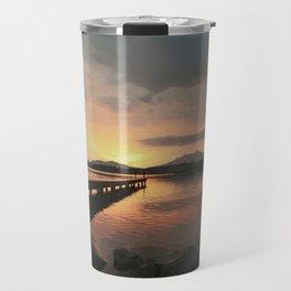 abendstimmung coastal evening Travel Mug