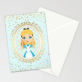 Fantastic Alice Portrait Stationery Cards