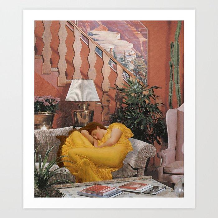 Tired AF Kunstdrucke