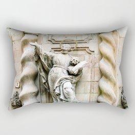 Statue of Jesuit Saint Francis Borgi Rectangular Pillow