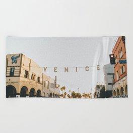 venice / los angeles, california Beach Towel
