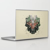 camouflage Laptop & iPad Skins featuring CAMOUFLAGE by GEEKY CREATOR