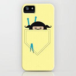 Pocket Knotty Ninja iPhone Case