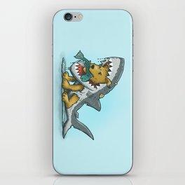 Shark Suit Dog iPhone Skin