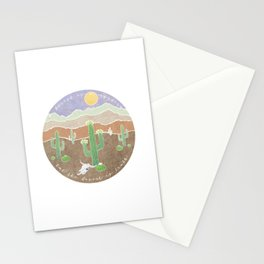The Desert is Truth Stationery Cards