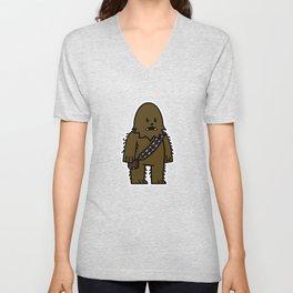 Mitesized Wookiee Unisex V-Neck