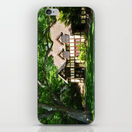 Haus with Tree iPhone Skin