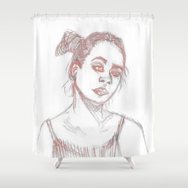 Smear Shower Curtain