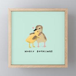 Hugly Ducklings Framed Mini Art Print