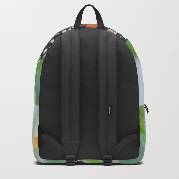 The Monarch Has An Angle Backpack