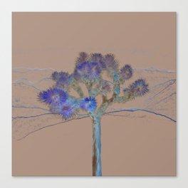 Joshua Tree Acid Wash by CREYES Canvas Print