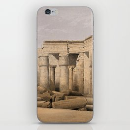 Ruins at Medinet Abou, Thebes, Egypt iPhone Skin