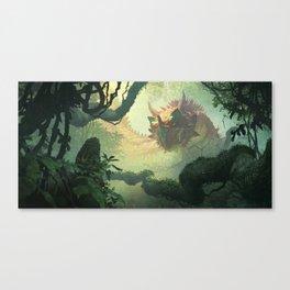 Elderscale Wurm Canvas Print