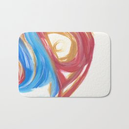 Torn in the Cycle 3 Bath Mat