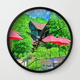 Spring Day In Virginia Wall Clock