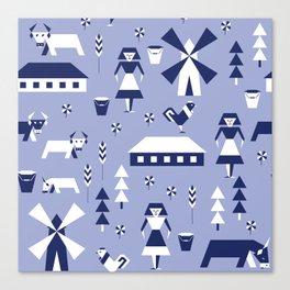 Farm. Seamless pattern. Canvas Print