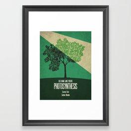 Photosynthesis - Minimalist Board Games 10 Framed Art Print