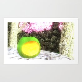Cult of Youth: Eating Art Print