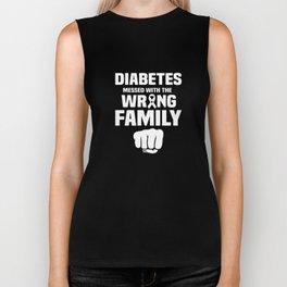 Diabetes Awareness Apparel Diabetic Family Gift Biker Tank