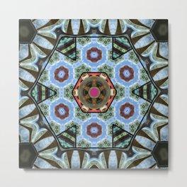 Kaleidoscope ZD Metal Print