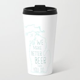 Michigan Beer Travel Mug